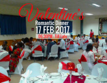 Valentine's Weekend Dinner Celebration – BMI Hotel, Lesotho